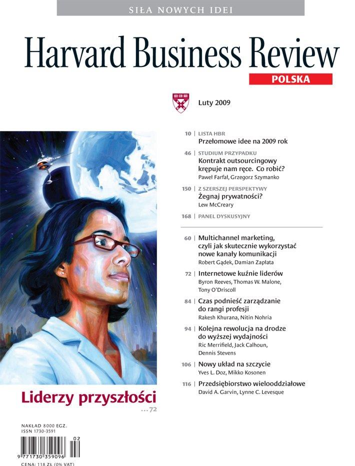Harvard-Nr-72-luty-2009-Liderzy przyszłości