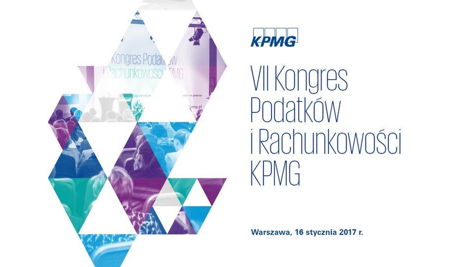 VII Kongres Podatków iRachunkowości KPMG