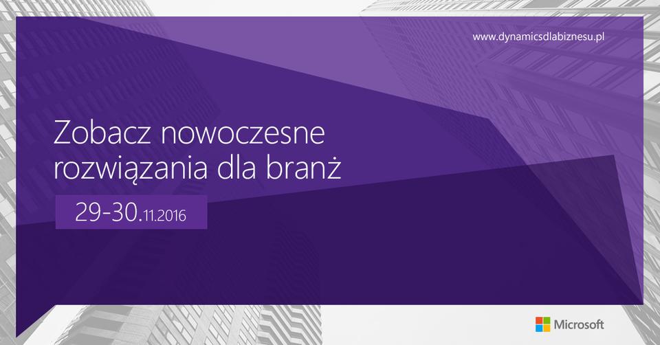 Microsoft dla Biznesu 2016