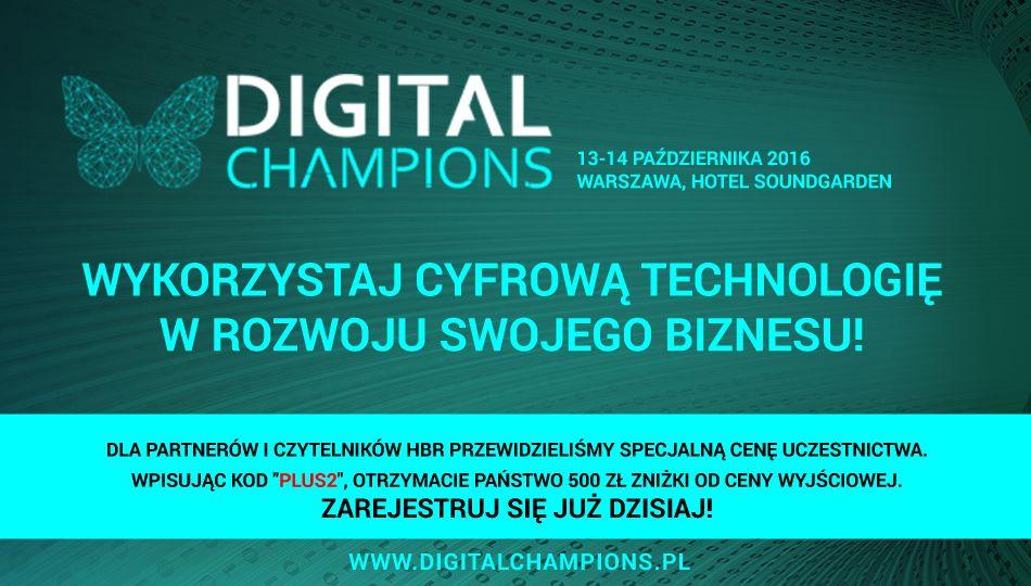Digital Champions – III Forum Liderów Cyfrowego Biznesu