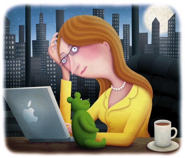 Trudne wybory kobiety pracującej