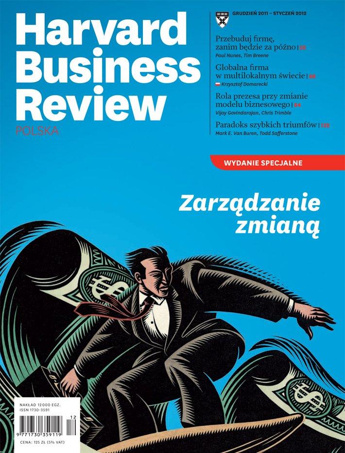 Harvard-Nr-106/107-grudzień-styczeń-2011-Zarządzanie zmianą
