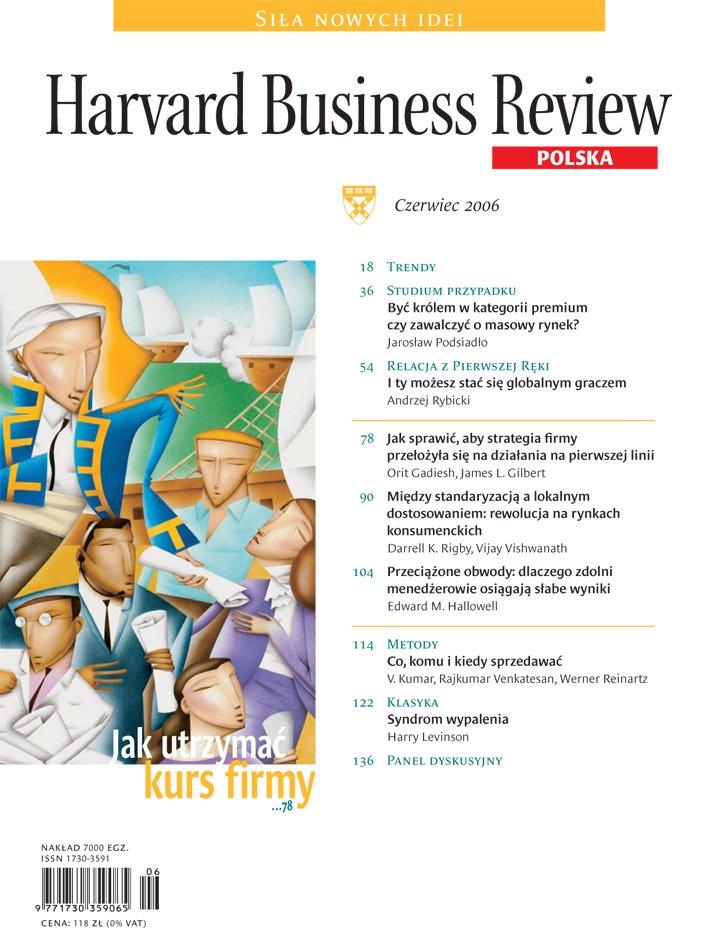 Harvard-Nr-40-czerwiec-2006-Jak utrzymać kurs firmy