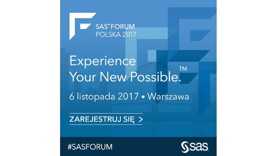 Analityka zmienia świat – SAS Forum 2017
