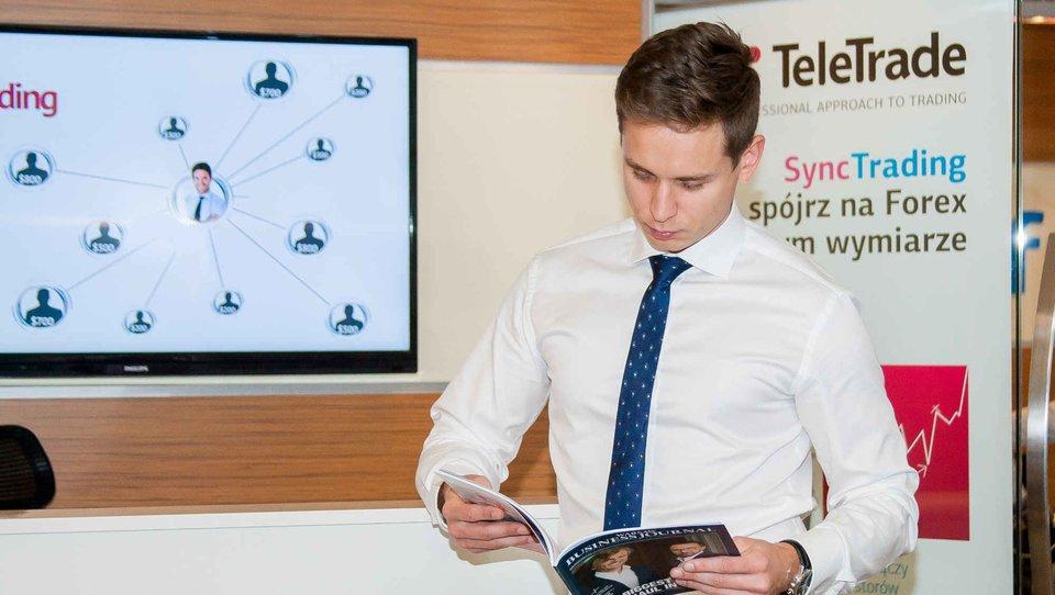 Zbigniew Grutkowski - opinie oSync Trading TeleTrade, czyli najpopularniejszej formie social tradingu