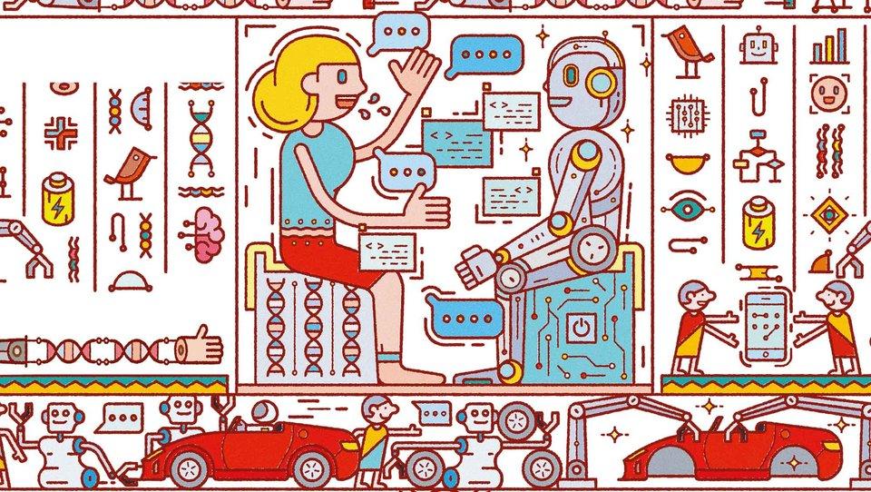 Jak ludzie isztuczna inteligencja łączą siły
