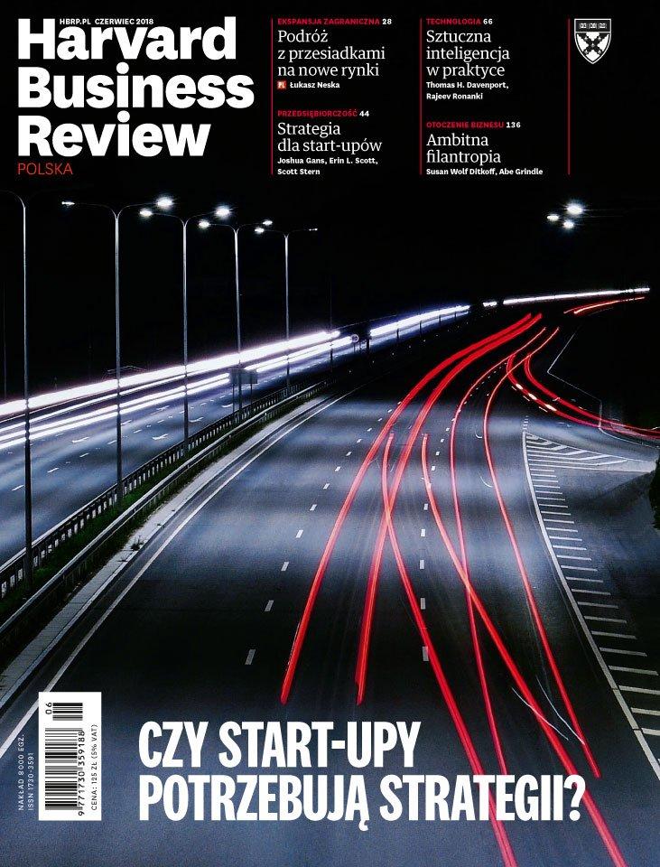Harvard-Nr-184-czerwiec-2018-Czy start-upy potrzebują strategii?