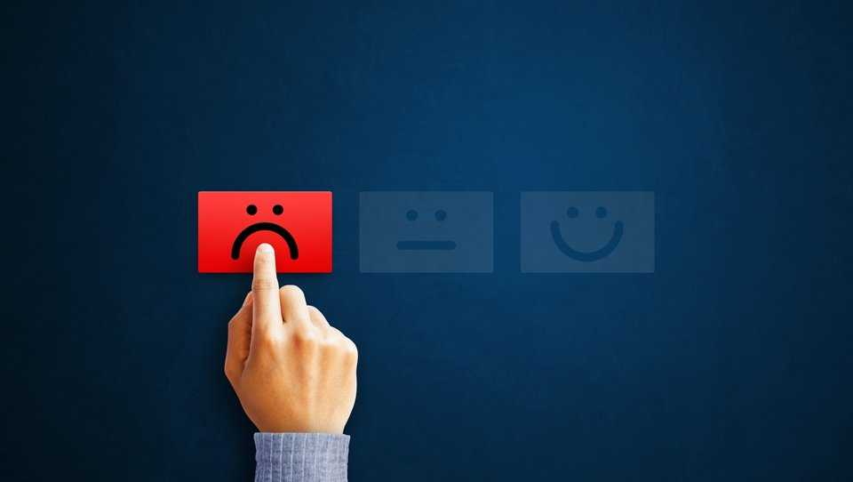 Negatywne oceny rzadko skutkują zmianą na lepsze