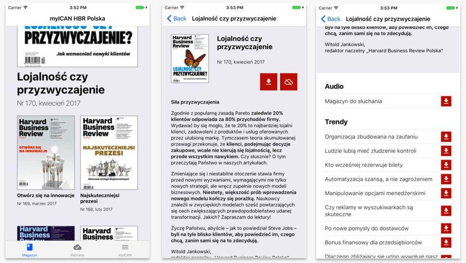 """Już jest! Nowa aplikacja mobilna """"Harvard Business Review Polska"""""""