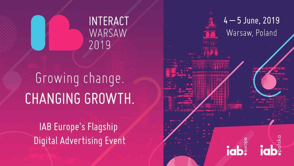 IAB Europe iIAB Polska ogłaszają pierwszych prelegentów Interact 2019