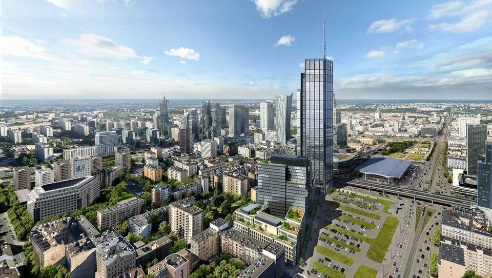 Varso: nowy wieżowiec ukształtuje centrum Warszawy
