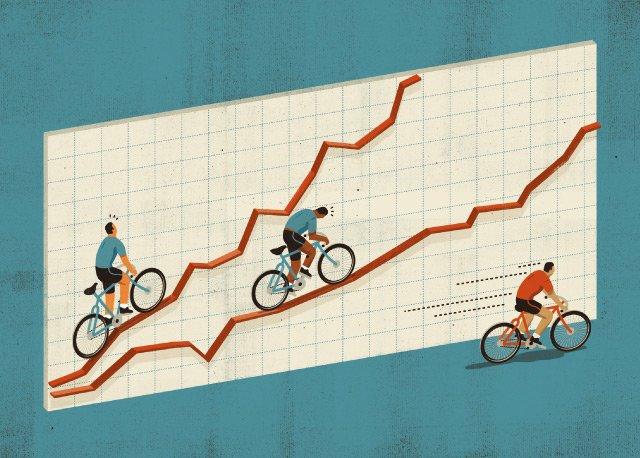 Biznes wczasach anemicznego wzrostu