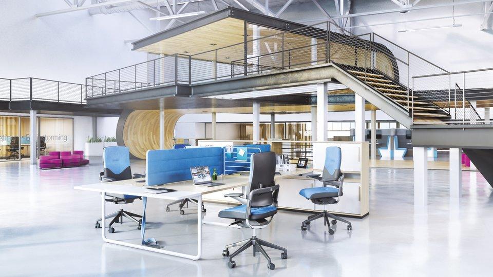 Trzy główne czynniki wprojektowaniu biur