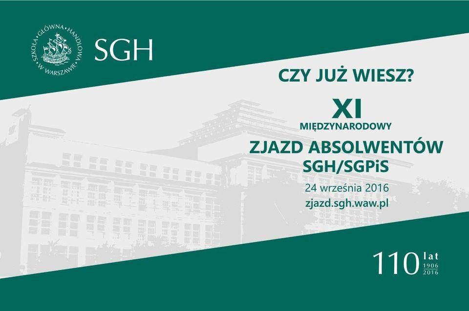 XI Zjazd Absolwentów SGH/SGPiS