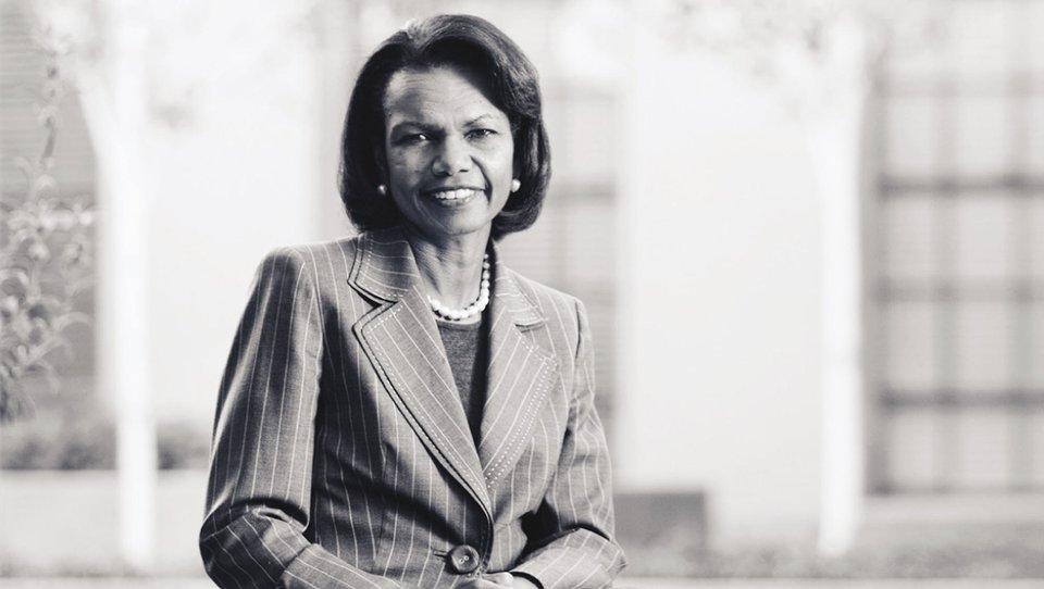 Condoleezza Rice: rzecz wtym, aby nie utknąć wstarym kontekście