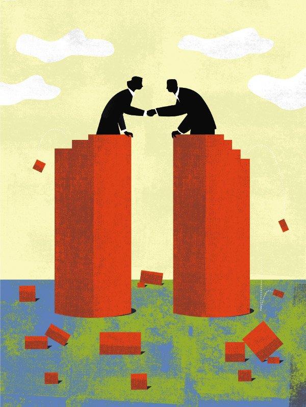"""Burzenie silosów, czyli jak wywiązać się zprzyrzeczenia """"nasz klient nasz pan"""""""