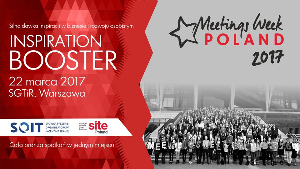 Meetings Week Poland INSPIRATION BOOSTER