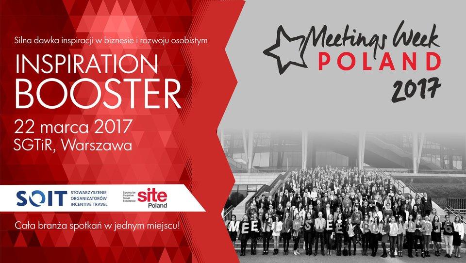 Meetings Week Poland INSPIRATION BOOSTER