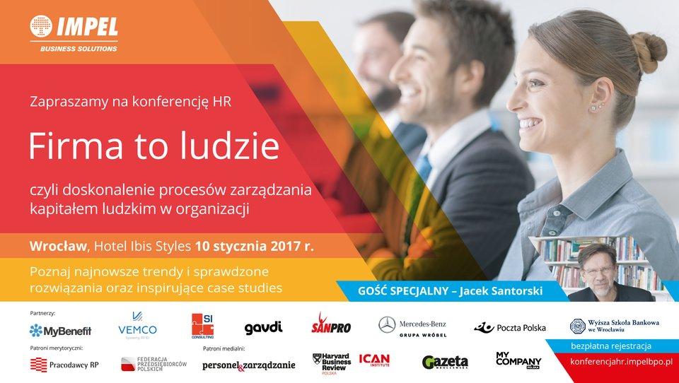 Firma to ludzie – spotkanie świadomych izaangażowanych liderów HR-u