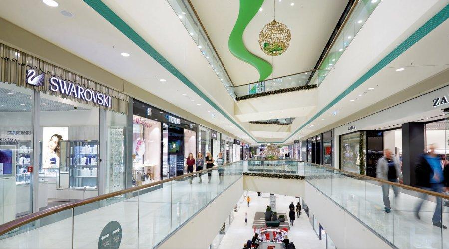 Rozświetlone nowe centrum Bydgoszczy