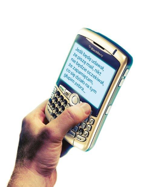 Moją odpowiedzialność pogrzebał BlackBerry