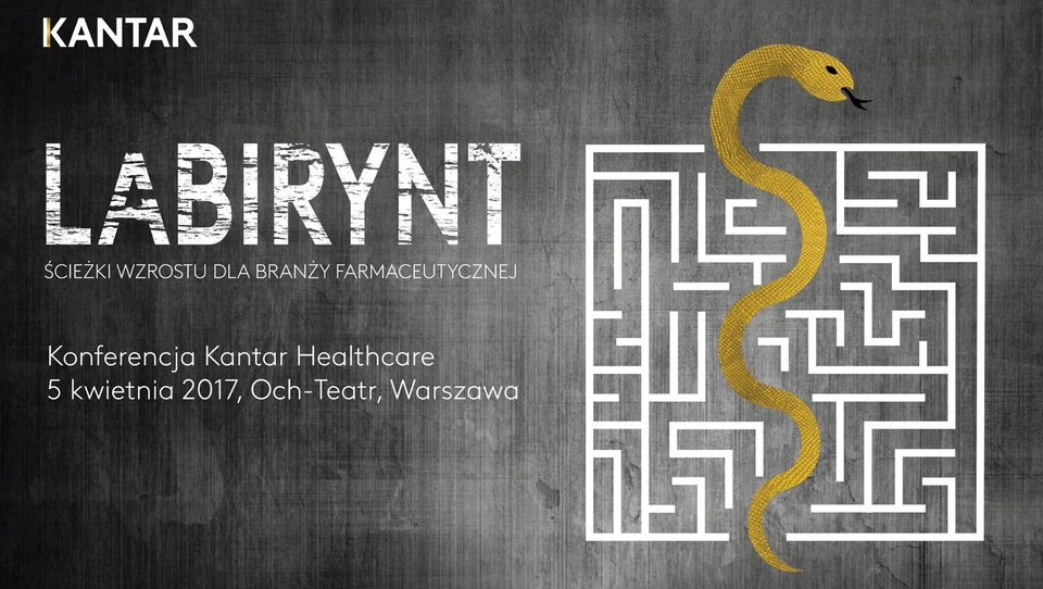 Konferencja Kantar Healthcare: Labirynt – ścieżki wzrostu dla branży farmaceutycznej