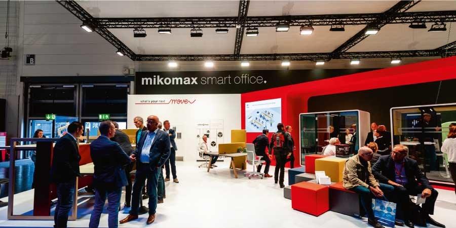 Mikomax Smart Office podczas Orgatec 2018 – wiodących na świecie targów wyposażenia biur