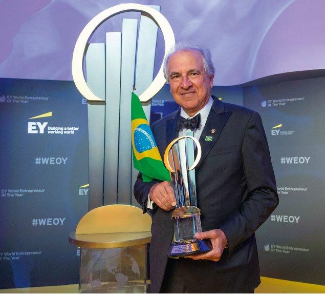 Rubens Menin, zwycięzca tegorocznego finału konkursu EY Entrepreneur of the Year