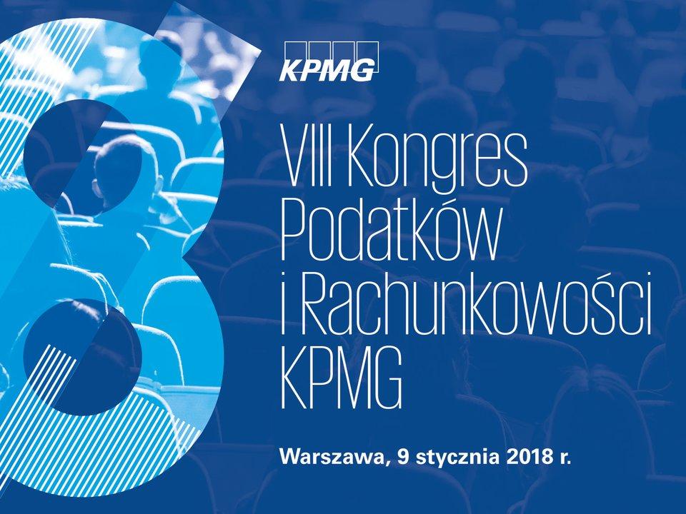 VIII Kongres Podatków iRachunkowości KPMG
