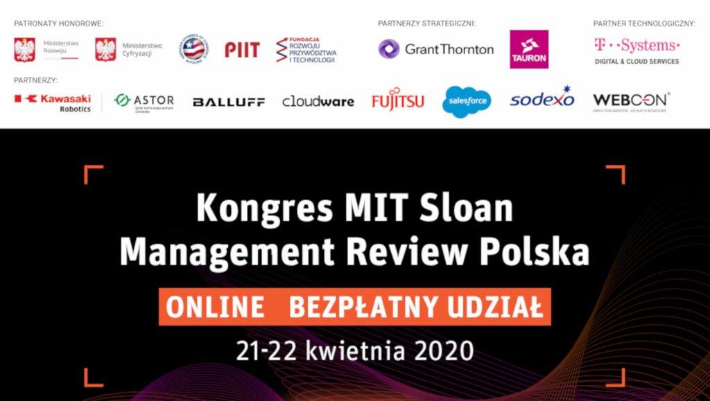 Kongres MIT Sloan Management Review Polska ONLINE: sprawdzona wiedza na niepewne czasy