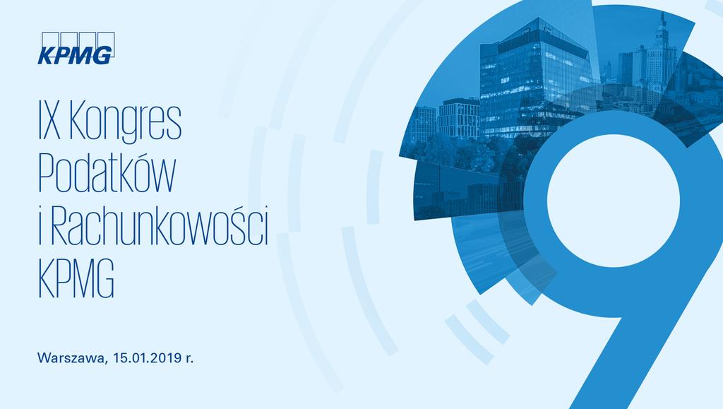 IX Kongres Podatków iRachunkowości KPMG
