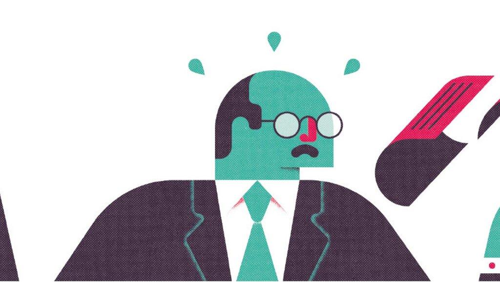 Zapracowani szefowie bywają niesprawiedliwi