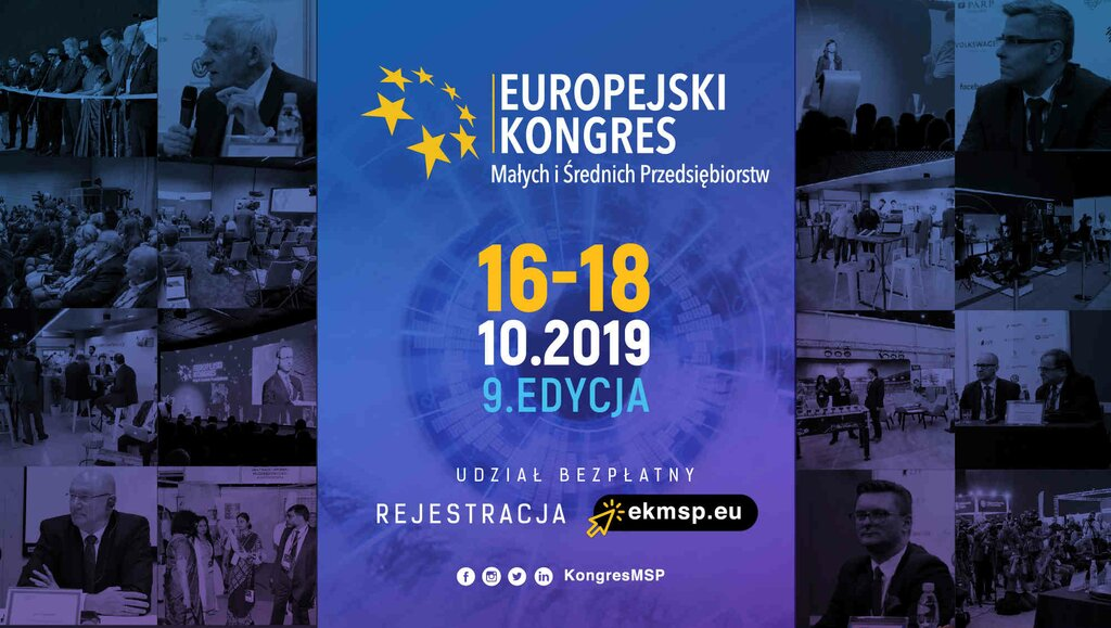 9. Europejski Kongres MŚP Smart - Safe – Solutions