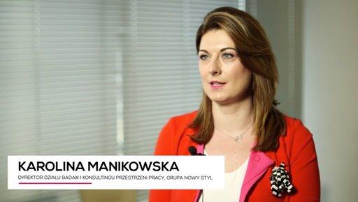 Karolina Manikowska: biuro jest katalizatorem zmiany