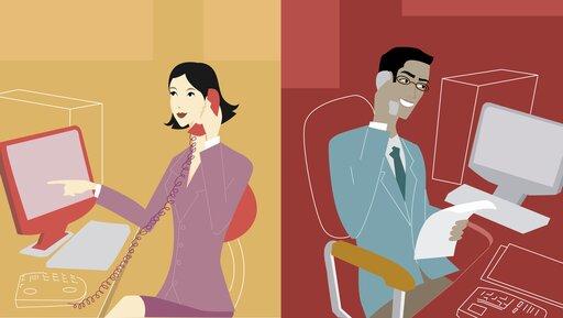 Co tak naprawdę robią ludzie podczas telekonferencji?