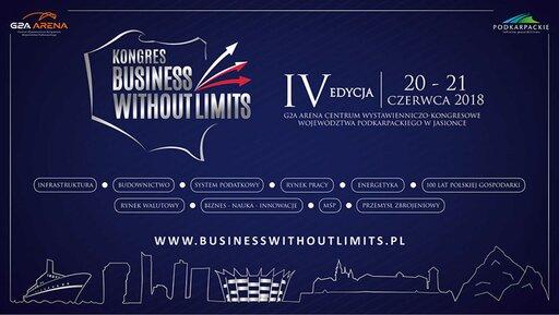 """IV edycja Kongresu """"Business Without Limits"""""""