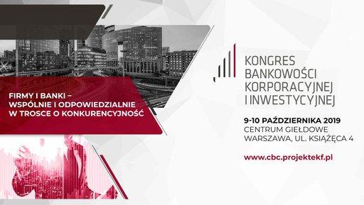 Kongres Bankowości Korporacyjnej iInwestycyjnej
