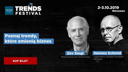 Business Insider Trends Festival – najważniejsza konferencja biznesowa wregionie CEE jesienią wPolsce
