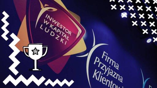 Gala programów Firma Przyjazna Klientowi oraz Inwestor wKapitał Ludzki